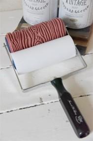 Vintage Paint Mönsterroller Wood texture -