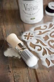 Vintage Paint Wax Brush -