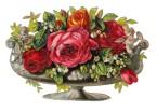 Grafiskt bild blomma urna