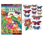 ReDesign  decor Transfer BoHo Bird Butterfly