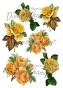 Grafiskt bild gula rosor - Bild Grafisk bild gula rosor 2