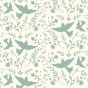 Schablon Stencil Mexican_Birds
