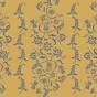 Schablon Stencil Paisley-Floral Garland