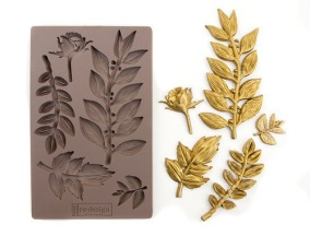 Redesign - Mould - Leafy Blossoms - Redesign - Mould - Leafy Blossoms