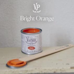 Vintage Paint Bright Orange - Vintage Paint Bright Orange 100 ml