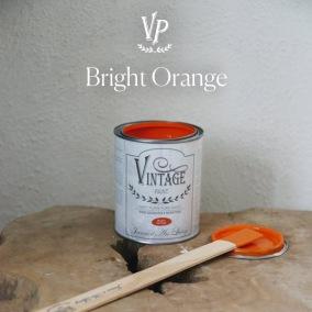 Vintage Paint Bright Orange - Vintage Paint Bright Orange 700 ml