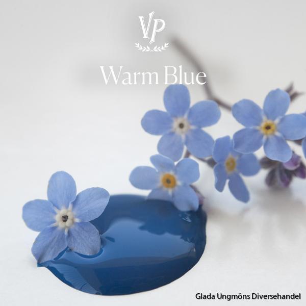 Warm Blue paint drop 600x600px