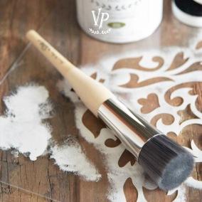 Vintage Paint Stencil Brush - Vintage Paint Stencil Brush 3,6 cm - Professionell L
