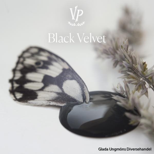 Black Velvet paint drop 600x600px