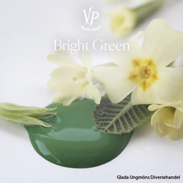 Bright Green paint drop 600x600px