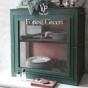 Vintage Paint Forest Green