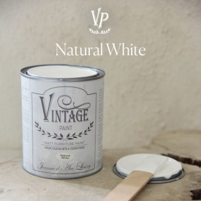 Vintage Paint Natural White - Vintage Paint Natural White 700ml