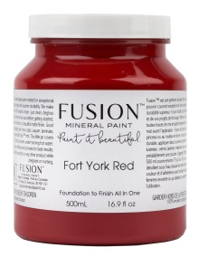 Fusion Mineral Paint Fort York Red - Fort York Red 500ml