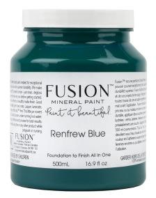 Fusion Mineral Paint Renfrew Blue - Renfrew Blue 500ml