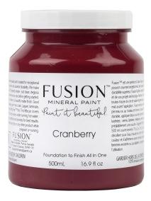 Fusion mineral paint Cranberry - Cranberry 500ml