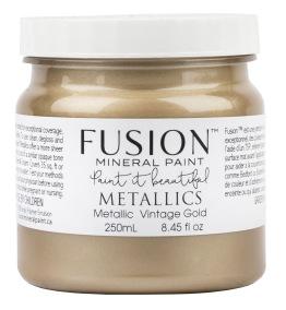 Fusion - Vintage Gold - Metallic - Fusion - Vintage Gold - Metallic - 250m