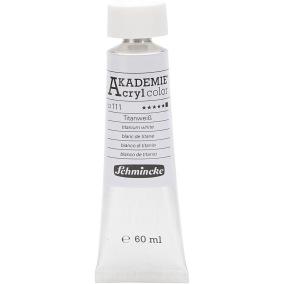 Acryl color Titanium white 60ml - Titanium white 60ml