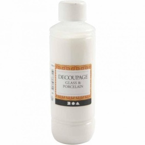 Decoupagelack för glas&porslin - Decoupagelack för glas&porslin 250ml