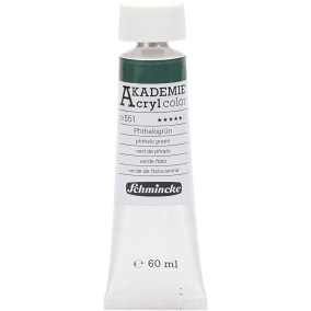 Acryl color  Phthalo green 60ml - Phthalo green  60ml