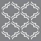 Stencil Moroccan Tile