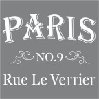 Stencil Parisian Street