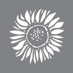 Stencil Sunflower