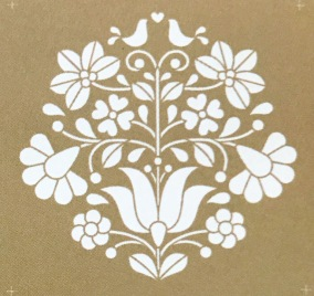 Scandinavian Floral - set - Scandinavian Floral - set 20 x 20 cm.