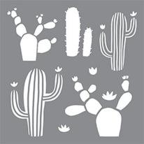Stencil Kaktus
