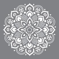 Stencil Mandala