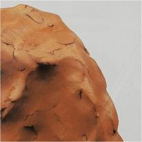 Självhärdande lera 1000g Terrakotta