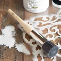 Vintage Paint Stencil Brush