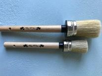 Nordic Chic Round Paint Brush