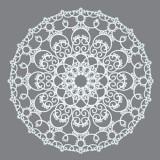 Stencil Doily