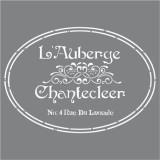 Stencil The French Inn