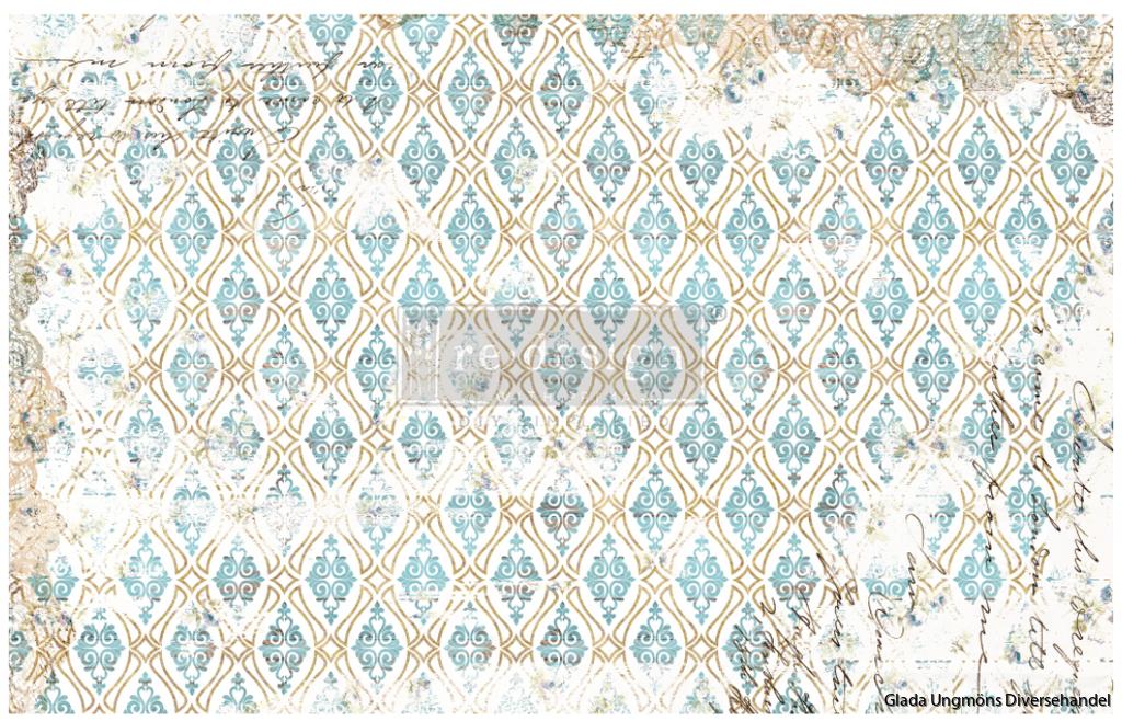 Redesign Decoupage Décor Tissue Paper - Distressed Deco
