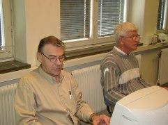 Koncentrerad Bertil L. i St.Jacobi