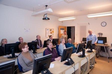 Kenth föreläser om mappar och filer
