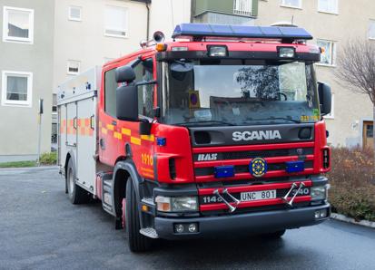 Släck-Räddningsbil BAS I Scania P114GB 340 4x2