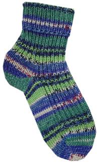 Mönster: Sockor i 6-trådigt Opalgarn