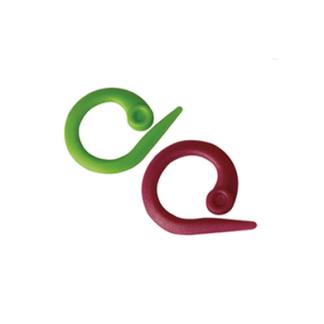 Stickmarkörer, låsbar / öppen - Knit Pro stickmarkör RING