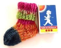 Mönster: Sockor till nyfödd