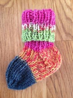 Mönster: Sockor till nyfödd - Sockor till nyfödd