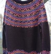 Mönster: Marias tröja