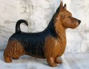 australian terrier h: 17 cm