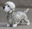 dandie dinmont terrier h:14 cm