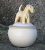 irish soft coated wheaten terrier h: 15 cm