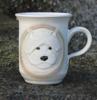 west highland white terrier h: 10 cm