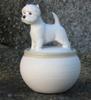 west highland white terrier h: 15 cm