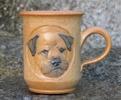 border terrier h : 10 cm