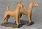 irish terrier h: 19 cm